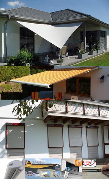 Sowero Sonnenschutz fr Balkon und Terrasse